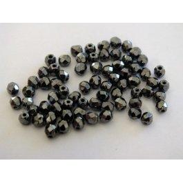 Ohňovky 3 mm šedá metalic 40 ks