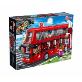 Stavebnica Autobus Double BanBao 8769
