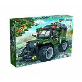 Stavebnica Army Terénne auto BanBao