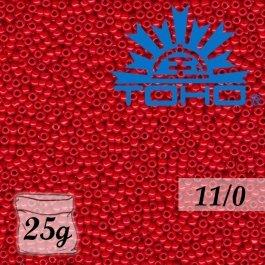 Toho Rokajl 11/0 Opaque Cherry č.45A 25g