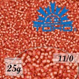 Toho Rokajl 11/0Silver-Lined Almond Blossom č.2201 25g