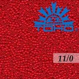 Toho Rokajl 11/0 Opaque Cherry č.45A 8g
