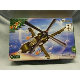 Stavebnica Army Vrtuľník Apache BanBao