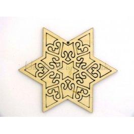 Hviezda ornament
