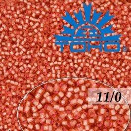 Toho Rokajl 11/0Silver-Lined Almond Blossom č.2201 8g
