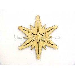 Hviezda 7 cm