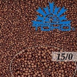 Toho Rokajl 15/0 Opaque-Frosted Oxblood, 5g (č.46F)
