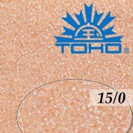 Toho Rokajl 15/0Trans-Rainbow Rosaline, 5g (č.169)