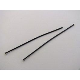 Ketlovací nit 50 mm čierny 10 ks