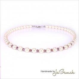 Perlový náhrdelník Cora