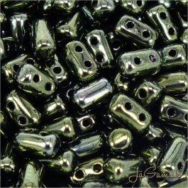MATUBO™ Rulla - 3x5mm - Luster Metallic Olivine-LK23980 - 10 g (R336)