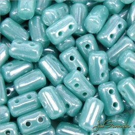 MATUBO™ Rulla - 3x5mm - Luster Opaque Turquoise-L63130 - 10 g (R333)