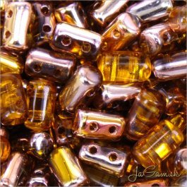 MATUBO™ Rulla - 3x5mm - Copper - Topaz-C10060 - 10 g (R313)
