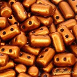 MATUBO™ Rulla - 3x5mm - Matte - Metallic Dk Copper-K01750 - 10 g (R314)