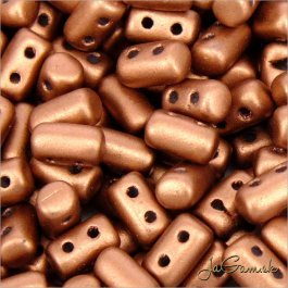 MATUBO™ Rulla - 3x5mm - Matte - Metallic Bronze Copper-K01780 - 10 g (R315)