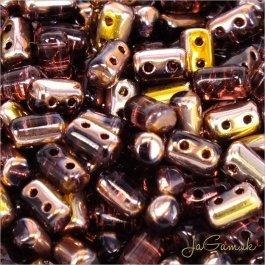 MATUBO™ Rulla - 3x5mm - Copper - Amethyst-C20060 - 10 g (R323)