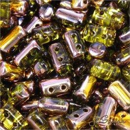 MATUBO™ Rulla - 3x5mm - Olivine - Capri Gold-C50230 - 10 g (R339)