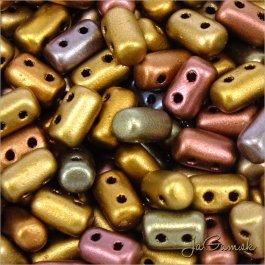 MATUBO™ Rulla - 3x5mm - Matte - Metallic Bronze Iris-K01640 - 10 g (R340)