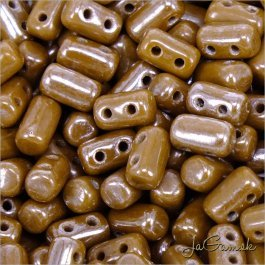 MATUBO™ Rulla - 3x5mm - Luster - Opaque Chocolate-L13600 - 10 g (R341)
