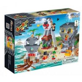 Stavebnica Ostrov pirátov BanBao 8708
