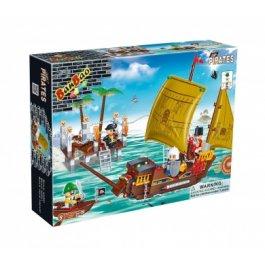 Stavebnica Pirátska loď BanBao