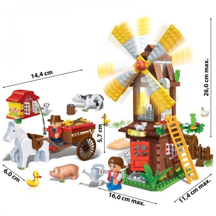Stavebnica Farma Mlyn BanBao 8575