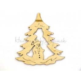 Stromček a snehuliak