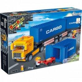 Stavebnica Transport Truck s kontajnerom BanBao 8763
