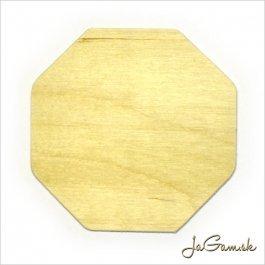 Výrez osemuholník 8,5 x 8,5 cm 1 ks