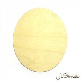 Výrez Ovál 8,5 x 5 cm 1 ks