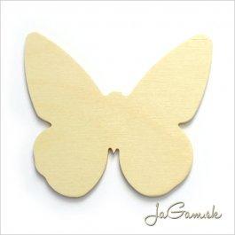 Drevený výrez Motýľ 8cm 1ks