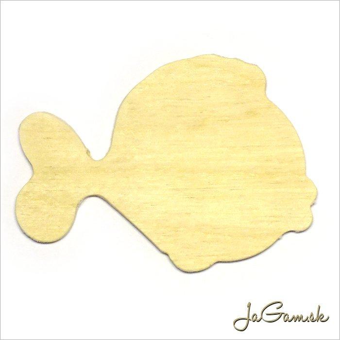 Drevený výrez - ryba 8 x 6 cm 1ks