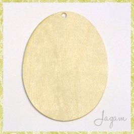 Drevený výrez - Veľkonočné vajíčko 8 cm (dv20139)