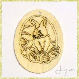 Drevený výrez - Veľkonočné vajíčko 8 cm (dv20140)