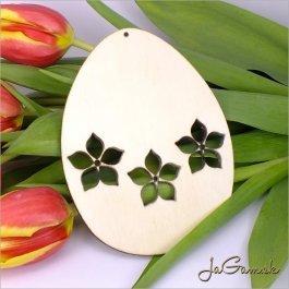 Drevený výrez - Veľkonočné vajíčko 11 cm (vn20147)