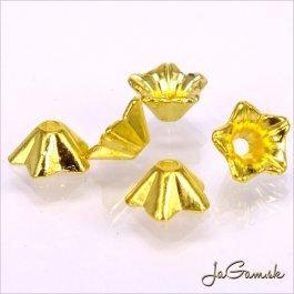 Kaplík 8,5mm zlatý, 10 ks (290_10)