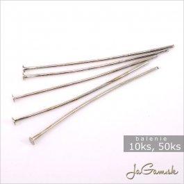 Ketlovací nit platina 60 mm 50 ks (667)