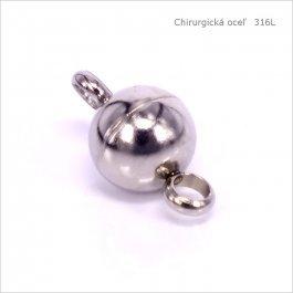 Magnetické zapínanie CHIRURGICKÁ OCEĽ  8mm, 1ks (1006)
