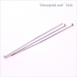 Ketlovací nit CHIRURGICKÁ OCEĽ 40mm, 50ks (1003)