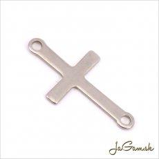 Medzikus krížik 23mm, CHIRURGICKÁ OCEĽ 1 ks (ch1099)