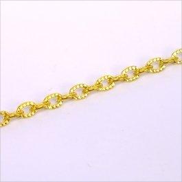 Retiazka 1x3,6x5,4mm, zlatá 0,5m (802-6)