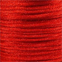 Nylonová šnúrka 1mm,červená - 1m (1003)