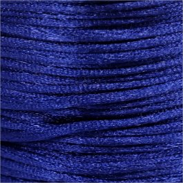 Nylonová šnúrka 1mm, modrá - 1m (1005)