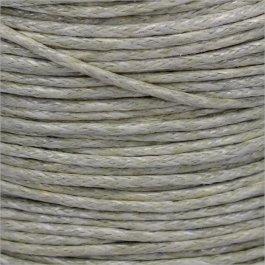 Voskovaná šnúrka 1mm, sivohnedá - 1m (1308)