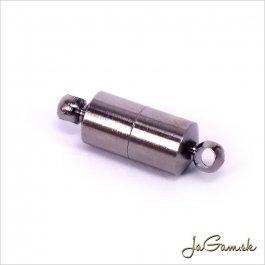 Magnetické zapínanie 19 x 6 mm hematit 1pár (175)