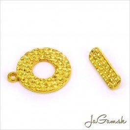 Americké zapínanie 18,5 mm zlaté 1 pár (111)