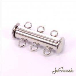 Magnetické zapaínanie 10x20x5mm, platina, 1ks (191)