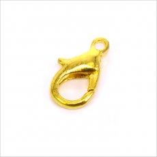 Karabinka 12mm zlatá 5ks (170z)