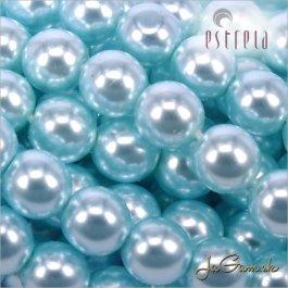 Voskované perly - ESTRELA - zelená 12325, veľkosť 6 mm, 80 ks (č.28)