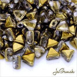 Kheops® by Puca® priehľadná/ zlatá 5g (33/26441)